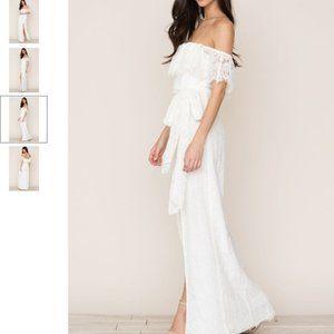 Yumi Kim Maribella Off the Shoulder Lace Dress